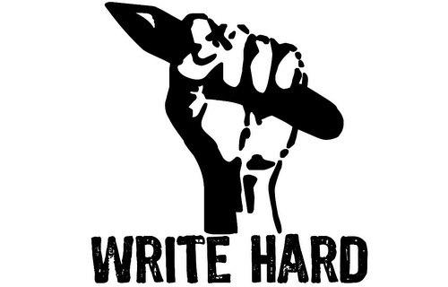 Scrivere duro