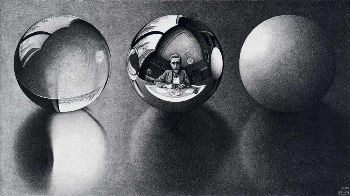 Escher-Three-Spheres-II