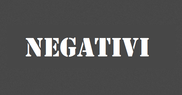 negativi