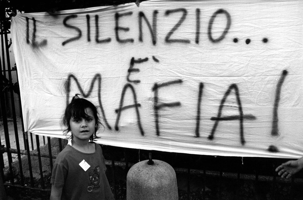 AGAINST MAFIA DEMO - PROTESTA CONTRO LA MAFIA