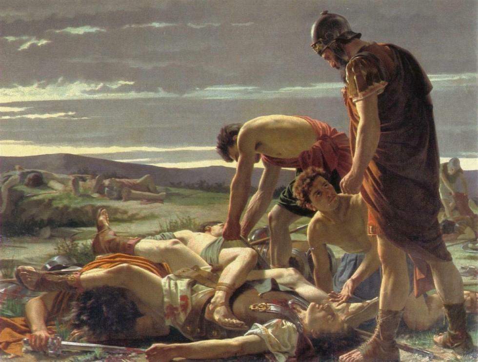 morte di catilina